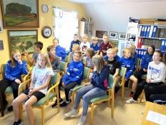 Skolens 56er var på besøg på Arkivet (2)