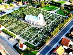 1 Horne Kirke og Kirkegård 2010 Foto Jørgen Jelling